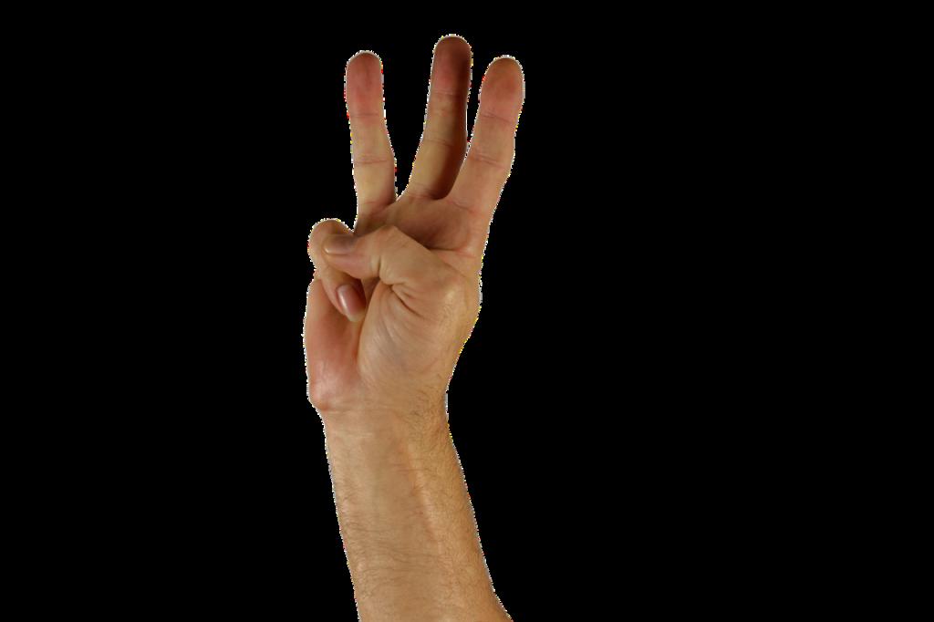 hand-three-fingers